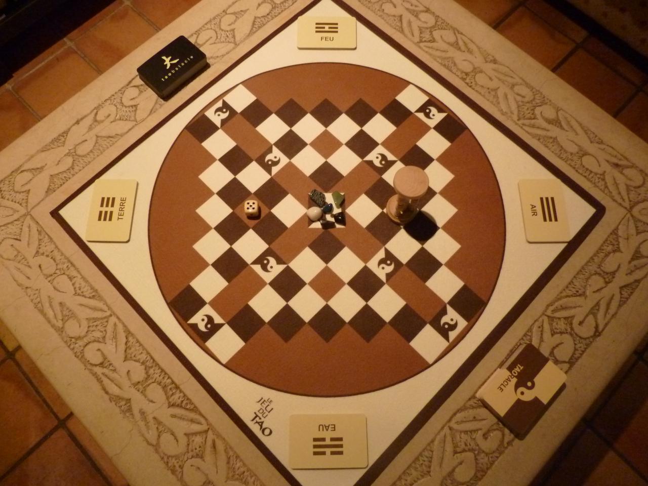 Le Taoban ou le plateau de jeu du Tao