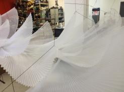 Système d'accroche pour créer les formes aériennes
